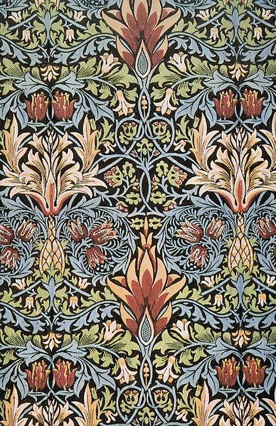 Morris Snakeshead textile design