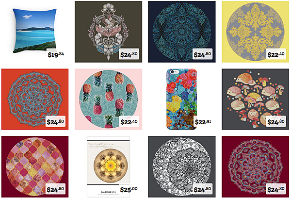 Patterns gifts on Redbubble