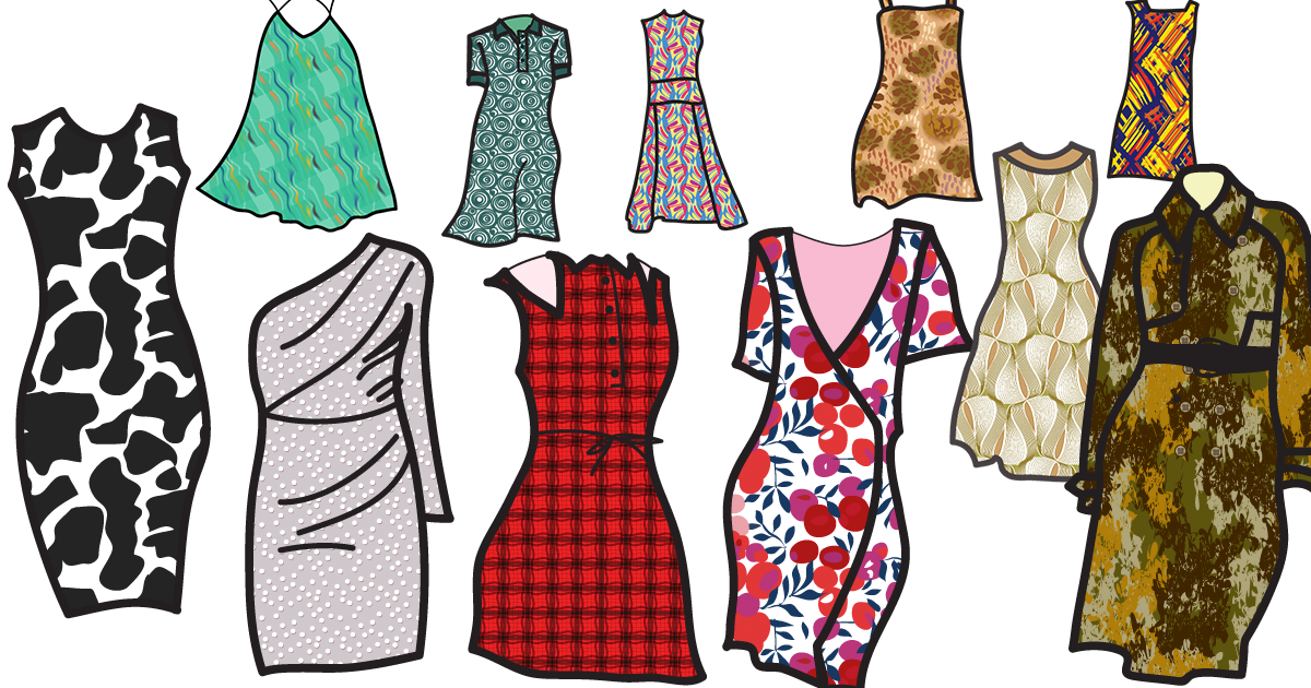 Where Do Patterns Go Part 1 Fashion Design Artlandia Blog