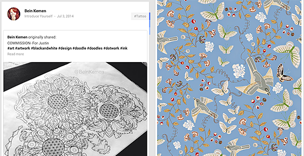 Surface Pattern Designers Group on g+