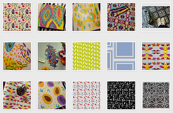#surface-patterns tag on Instagram.